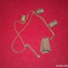 Antigüedades: CUERDA DE CENCERROS. Lote 80996676