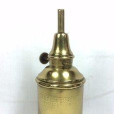 Antigüedades: RARO QUINQUE MARQUE M - B LAMPE DE SURETE F. BESNARD PARIS - LAMPARA FRANCIA S.XIX. Lote 81017916