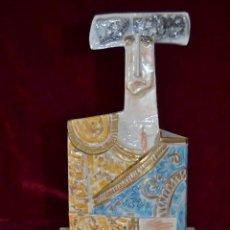 Antigüedades: FIGURA DE TORERO EN PORCELANA ALGORA. Lote 81032148