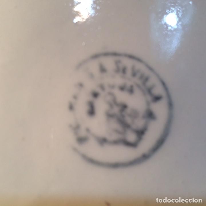 Antigüedades: Plato porcelana - Foto 4 - 81047923