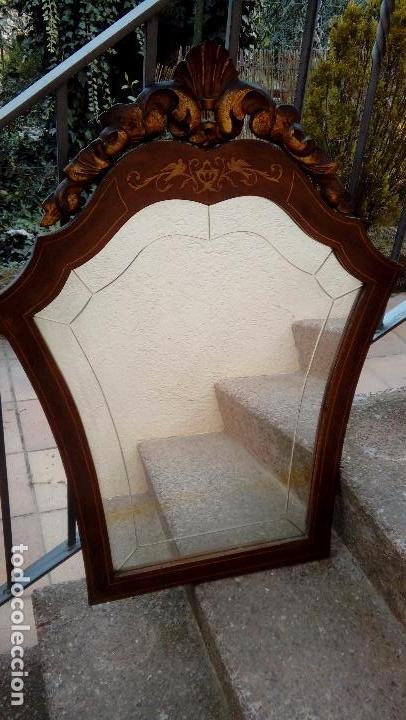Antigüedades: Espejo cornucopia - Foto 3 - 80902583