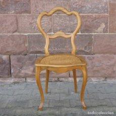 Antigüedades: SILLA BIEDERMEIER. ALEMANIA 1820 - 1870. Lote 81125184