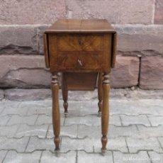 Antigüedades: MESA COSTURERO BIEDERMEIER. ALEMANIA 1820 - 1860.. Lote 81125688