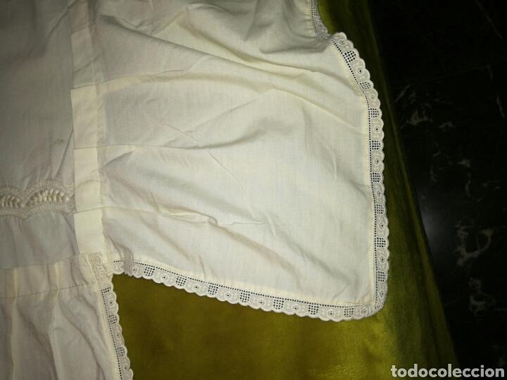 Antigüedades: Colcha de cuna color beige - Foto 3 - 81134107