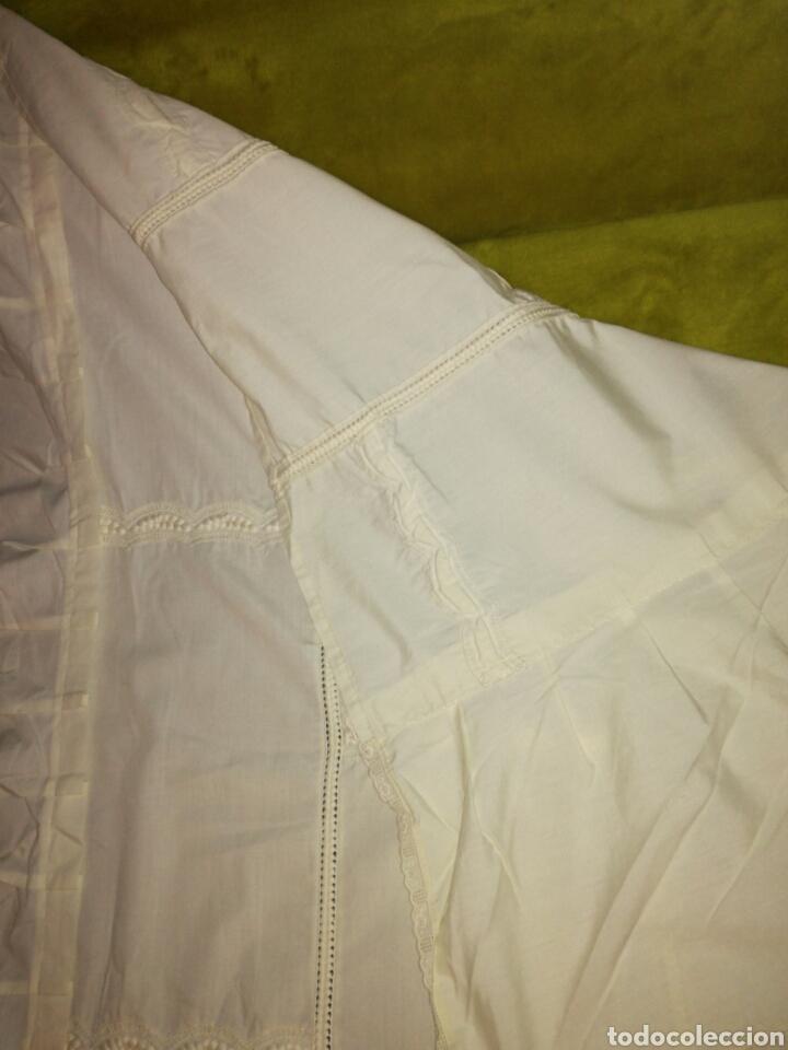 Antigüedades: Colcha de cuna color beige - Foto 5 - 81134107