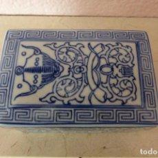 Antigüedades: CAJA DE PORCELANA ORIENTAL. Lote 81204540