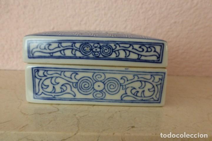 Antigüedades: CAJA DE PORCELANA ORIENTAL - Foto 3 - 81204540