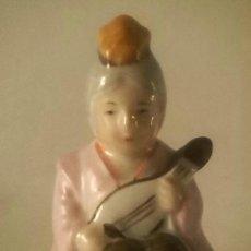 Antigüedades: LOS 7 SABIOS DE JAPON PORCELANA SATSUMA. Lote 81206848