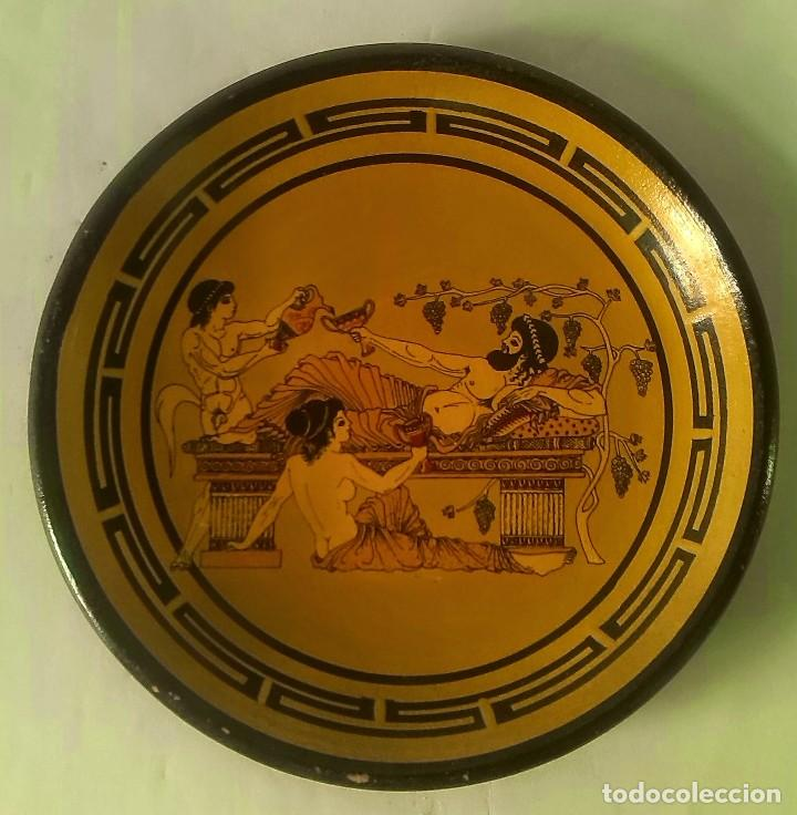 PLATYO GRIEGO (Antigüedades - Porcelanas y Cerámicas - Otras)
