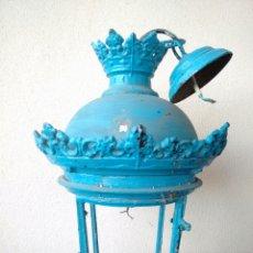 Antigüedades: LAMPARA ESPECTACULAR MUY ANTIGUA Y MUY GRANDE. Lote 81209958