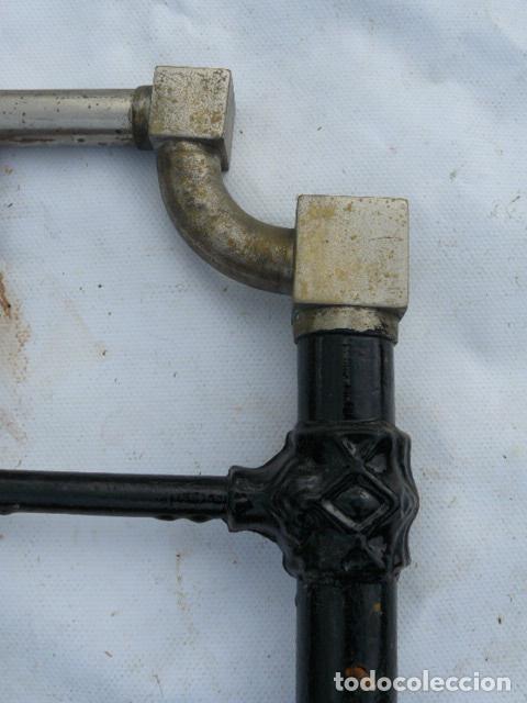 Antigüedades: CABEZAL DE CAMA DE HIERRO - Foto 4 - 81275192