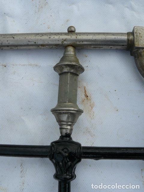 Antigüedades: CABEZAL DE CAMA DE HIERRO - Foto 5 - 81275192