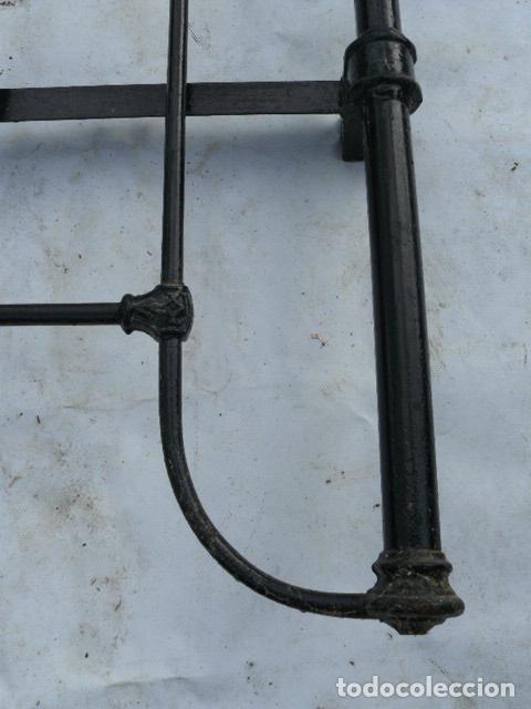 Antigüedades: CABEZAL DE CAMA DE HIERRO - Foto 7 - 81275192