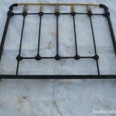 Antigüedades: CABEZAL DE CAMA DE HIERRO DE SORIA. Lote 81280348