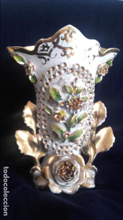 Antigüedades: Pareja jarrones Isabelinos - Foto 2 - 81293888