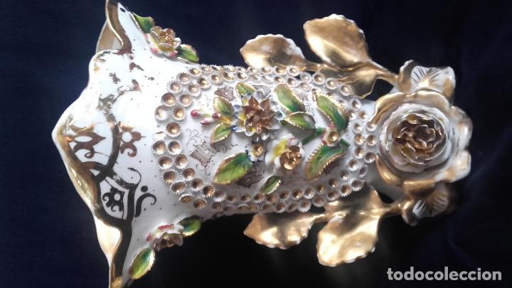 Antigüedades: Pareja jarrones Isabelinos - Foto 4 - 81293888