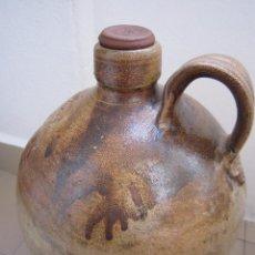 Antigüedades: VASIJA DE BARRO. UN SIGLO DE ANTIGUEDAD.. Lote 81359292