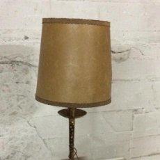 Antigüedades - LAMPARA DE MESA, HIERRO DORADO - 81583060