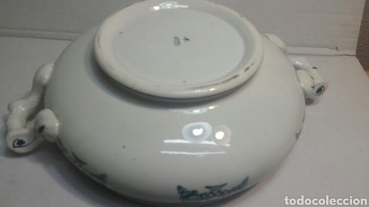 Antigüedades: Sopera Antigua de porcelana sellada y numerada - Foto 5 - 81588394