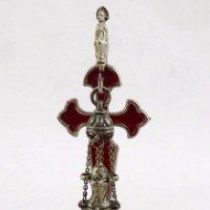 Antigüedades: CRUZ DE SANTIAGO Y BOTAFUMEIRO. 11 CMS.. Lote 81633712