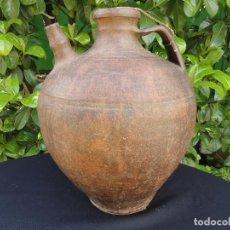 Antigüedades: ALFARERÍA CASTELLANA: CÁNTARO PARA VINO CESPEDOSA DE TORMES. Lote 81665688