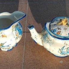 Antigüedades: JUEGO CAFE O TE ANTIGUO. Lote 81694504