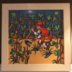 Antiquitäten - Azulejo Ceramico. Azulejo Pintado y esmaltado. - 81714019