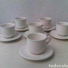 Antigüedades: JUEGO TAZAS DE CAFE. Lote 81725518