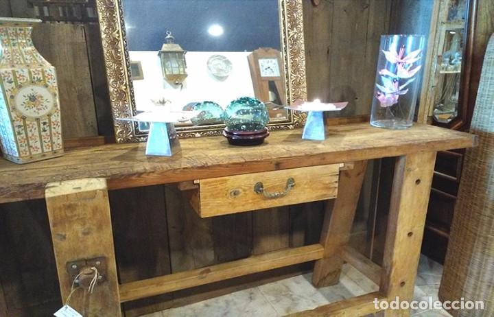 antiguo banco de trabajo - Comprar Muebles Auxiliares Antiguos en ...