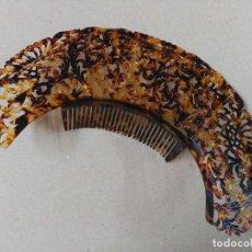 Antigüedades: PEINETA TIPO CORONA TIARA SIMIL CAREY. Lote 81825792
