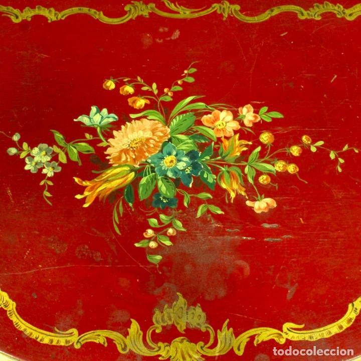 Antigüedades: Consola italiana lacada y pintada - Foto 4 - 81902772