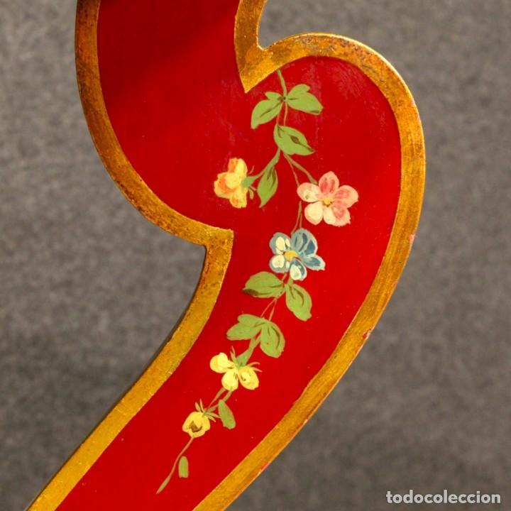 Antigüedades: Consola italiana lacada y pintada - Foto 9 - 81902772