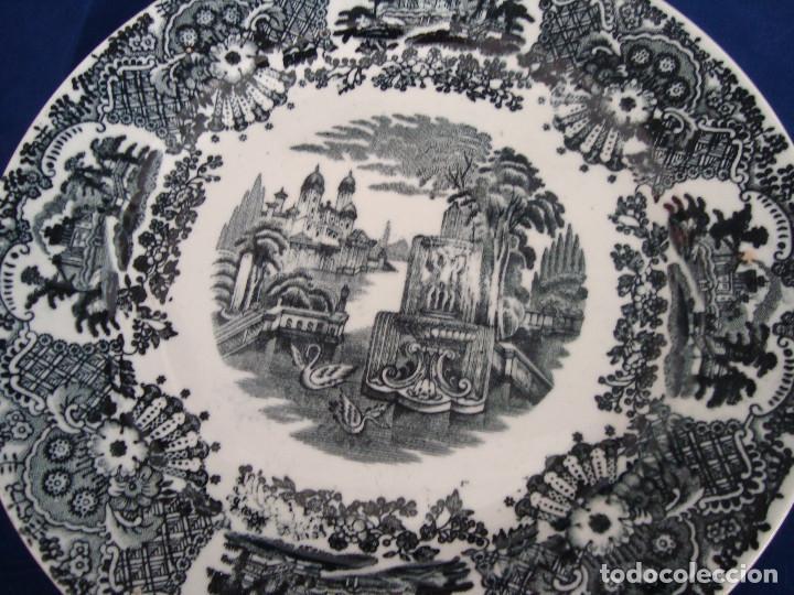 Antigüedades: PLATOS PICKMAN S.A SEVILLA CARTUJA 1900 A 1965 LOTE DE 6 PLATOS LLANOS - Foto 14 - 268894134