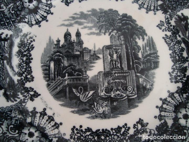 Antigüedades: PLATOS PICKMAN S.A SEVILLA CARTUJA 1900 A 1965 LOTE DE 6 PLATOS LLANOS - Foto 18 - 268894134