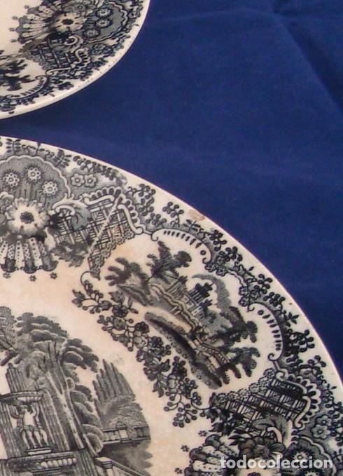 Antigüedades: PLATOS PICKMAN S.A SEVILLA CARTUJA 1900 A 1965 LOTE DE 6 PLATOS LLANOS - Foto 22 - 268894134