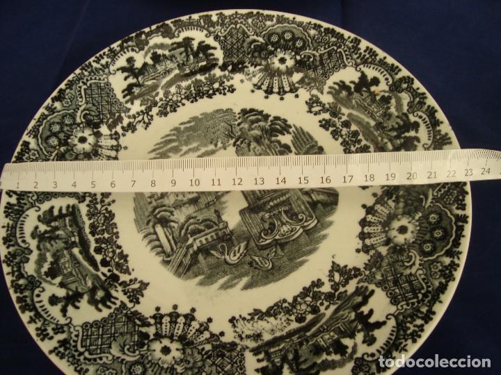 Antigüedades: PLATOS PICKMAN S.A SEVILLA CARTUJA 1900 A 1965 LOTE DE 6 PLATOS LLANOS - Foto 23 - 268894134
