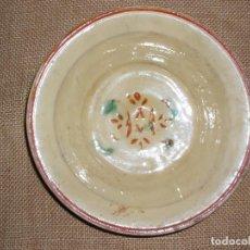 Antigüedades: ANTIGUO PLATO CERAMICA CATALANA DE LA BISBAL. MUY BUEN ESTADO.. Lote 81934088