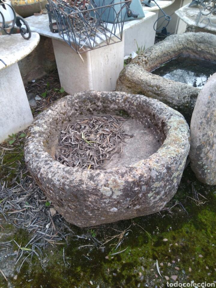 Antigüedades: Antigua pila de piedra de granito - Foto 2 - 81939240