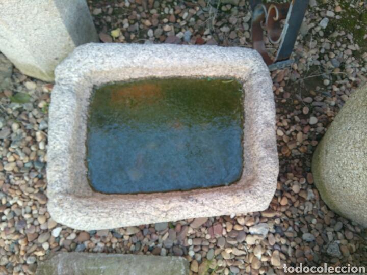 Antigüedades: Antigua pila de piedra de granito - Foto 2 - 81940442