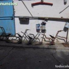Antigüedades: VERTEDERAS Y ARADOS ANTIGUOS. Lote 81944276