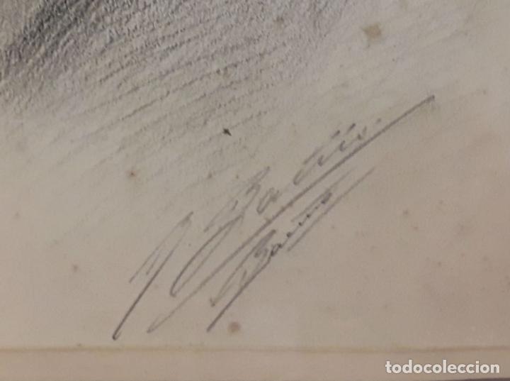 Antigüedades: MARCO DOBLE DE CUERO ROJIZO CON CENEFA DORADA. ESPAÑA. SIGLO XX (?) - Foto 7 - 81991540