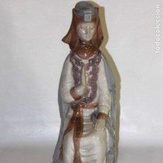Antigüedades: FIGURA DE PORCELANA LLADRO REINA GOTICA AÑOS 70. Lote 82089392