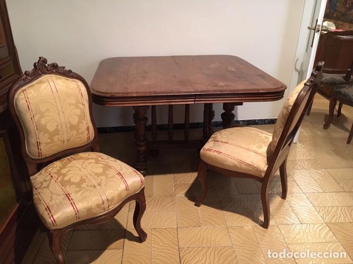 conjunto mesa + sillas comedor - Comprar Mesas Antiguas en ...