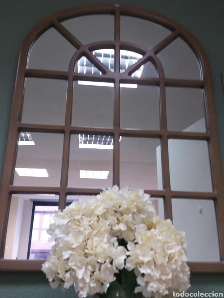 Espejo grande de ventana o cuarterones comprar espejos for Espejos antiguos grandes