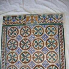 Composicion de azulejos siglo XIX