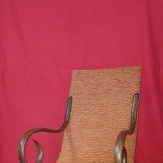Antigüedades: MECEDORA THONET RECIÉN RESTAURADA Y TAPIZADA. . Lote 82278604