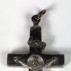 Antigüedades: CRUZ ENCOLPION-RELICARIO. RELIQUIAS DE ANTONIO MARIA CLARET. ESPAÑA. CIRCA 1920. Lote 82287708