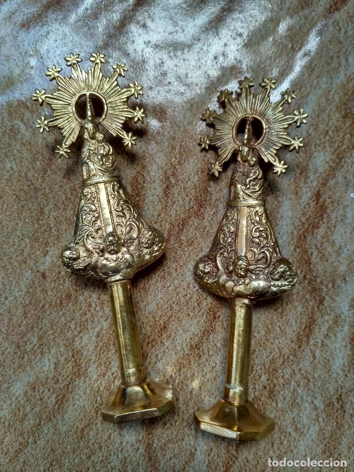 Antigüedades: Virgen del Pilar. - Foto 2 - 82293624