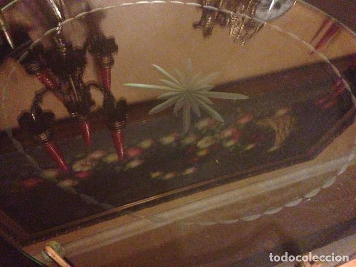 Antigüedades: PRECIOSA BANDEJA EN CRISTAL TALLADO. - Foto 2 - 82347596