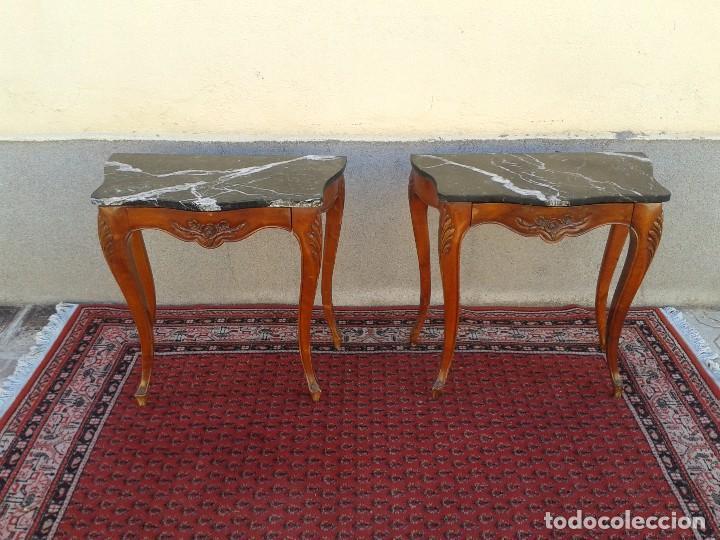 pareja de mesillas antiguas retro vintage, mesa - Comprar Muebles ...